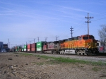 BNSF 5022 On NS 25 A Eastbound