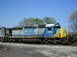 CSXT 8111 In The Yard At New River Yard Shop Track