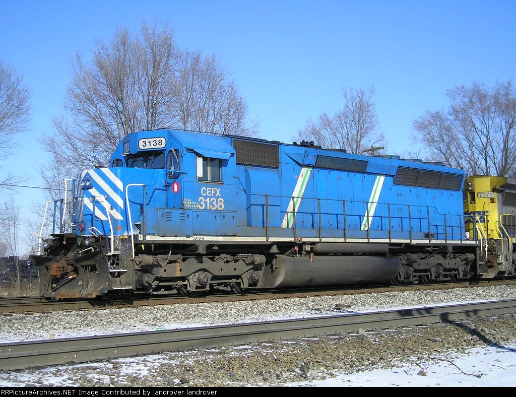 CEFX 3138 On CSX Q 507 At New River Jct