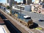 CSX 5296 leads northbound train Q680