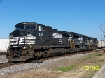 Another view of Purvis (Mississippi) coal train