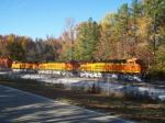 BNSF/CSX intermodal train