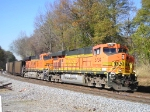BNSF 5734 On NS 735 Southbound