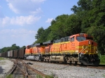 BNSF 5732 On NS 733 Southbound