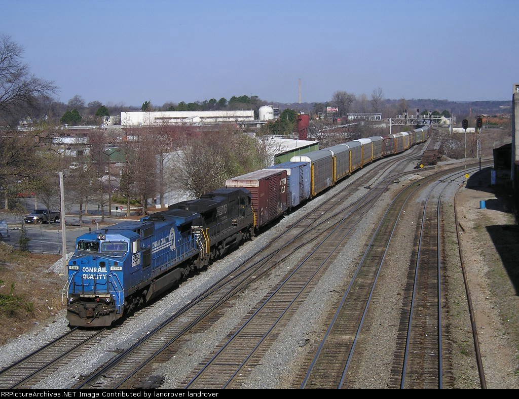 NS 8354 On NS Auto / Rack Southbound