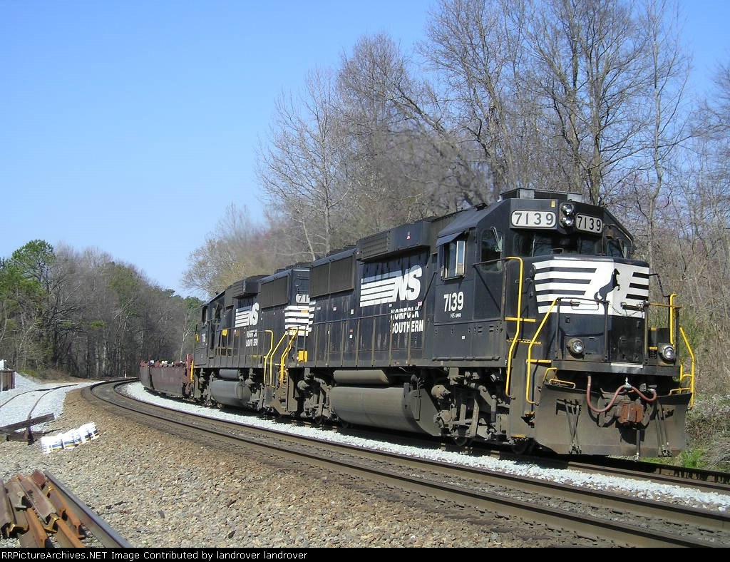 NS 7139 On NS G 3 Southbound