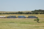 Iowa, Chicago & Eastern Railroad (ICE) EMD SD40-2's No. 6459 and 6402 - Dakota, Minnesota & Eastern Railroad (DME) EMD GP40 No. 4004