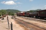 Black Hills Central Railroad Yard looking West