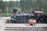 Black Hills Central Railroad (BHCR) 2-6-2 Steam Locomotive No. 7