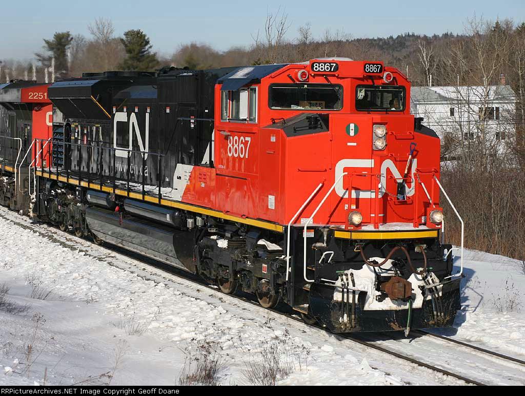 SD70M-2 8867