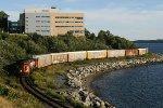 Hugging the Shoreline of Halifax Harbour