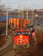 Late Afternoon Intermodal