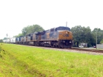 CSX northbound mixed manifest