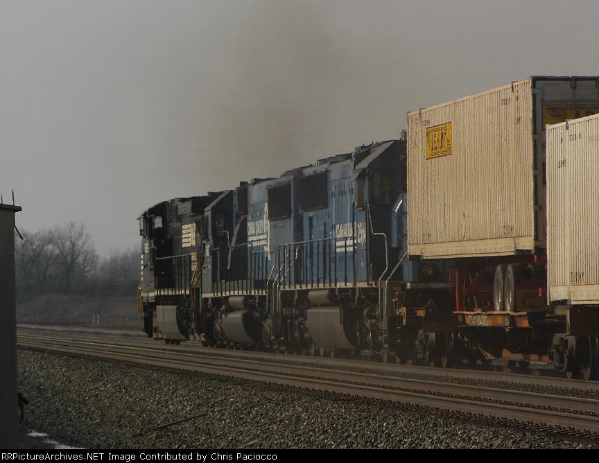 """""""Un-Touched"""" Conrail SD70"""