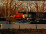 BNSF 2800 and EMDX 760