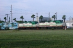 Tri-rail 801 and 802 pushing the NB