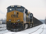 CSX 937 waits to go west with N919