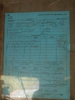 FRA inspection record.