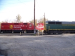 Reading and Northern 5014 and Canadian Pacific 7307