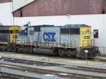The last of the SD50 fleet wearing this paint