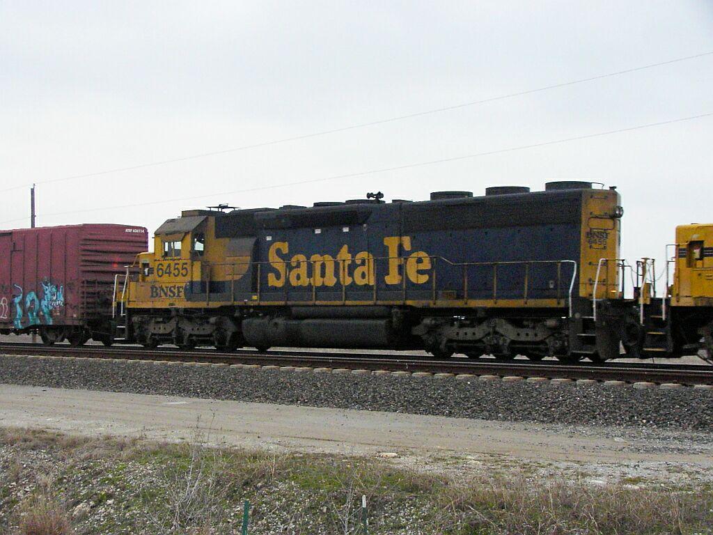 BNSF 6455