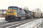 CSX leader on the NS northbound
