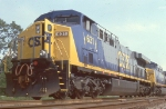 CSX 631 back then brand new