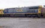 CSX 638 heading for work at the pig ramp