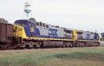 SEMX loaded coal train