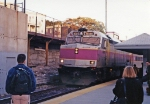 MBTA 1000 arriving at Porter Station