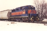 Switching cars at the grain elevator