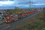 BNSF 697 on CSX Q381-27