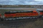 BNSF 7497 on CSX Q381-27