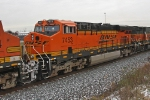 BNSF 7453 on CSX Q381-18