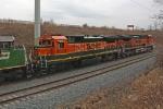 BNSF 8629 on CSX Q380-29