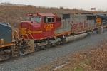 BNSF 8233 on CSX Q380-04
