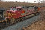 BNSF 643 on CSX Q380-10