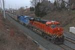 BNSF 6161 on CSX N891-13