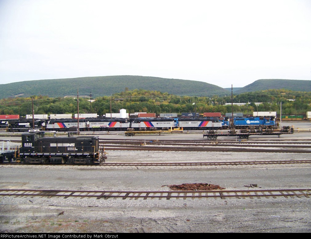Norfolk Southern Shops and Rose Yard