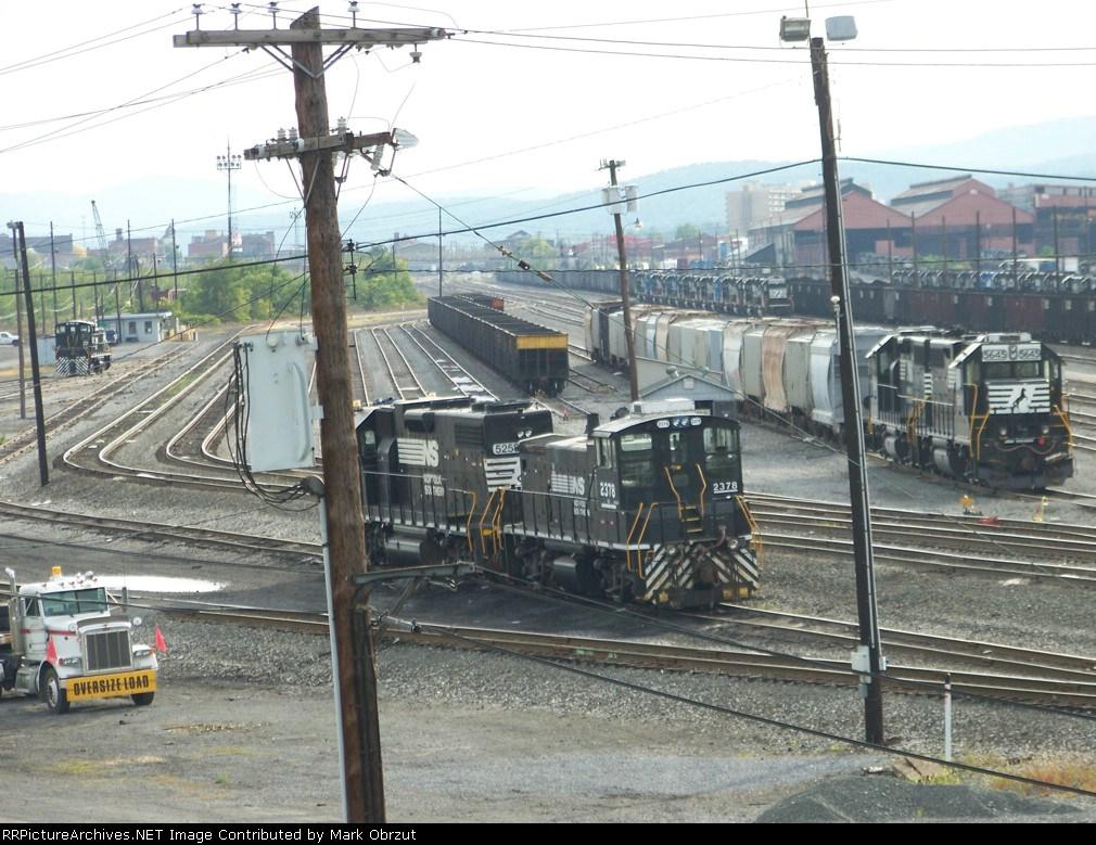 Norfolk Southern Pittsburgh Division Rose Yard