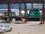 RPRX 2403 at the Norfolk Southern Shops
