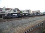 Norfolk Southern 3345, 3372, 9519 and 9251