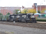 Norfolk Southern 3353 and 3433