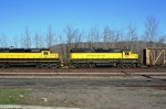 NYSW 3022 and NYSW 3040 are heading toward the yard