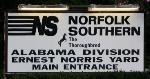 Norris Yard Sign