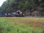 Norfolk Southern 3383 and 3389 at Horseshoe Curve