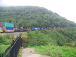 Norfolk Southern heavy loads at Horseshoe Curve