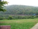 Norfolk Southern helpers at Horseshoe Curve