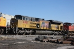 The SD70's are in for what is believed to be inverter cabinet vent modifications