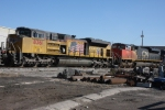 Another view of the SD70's that are in for modifications